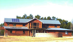 PV and Hot Water System at a Horse Farmstead