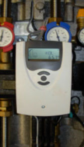 Solar Station (Digital Controller, Pump and meters)