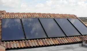 Solar Collectors for 500L Solar Hot Water System and Pool Heating, Midfield Estate, Brakfontein